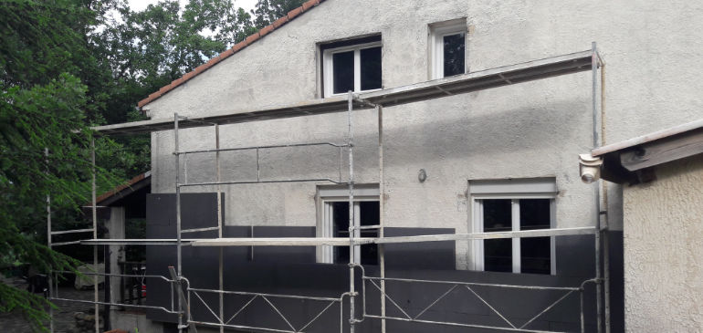 Combles d'une maison isolée par Amplitude Isolation